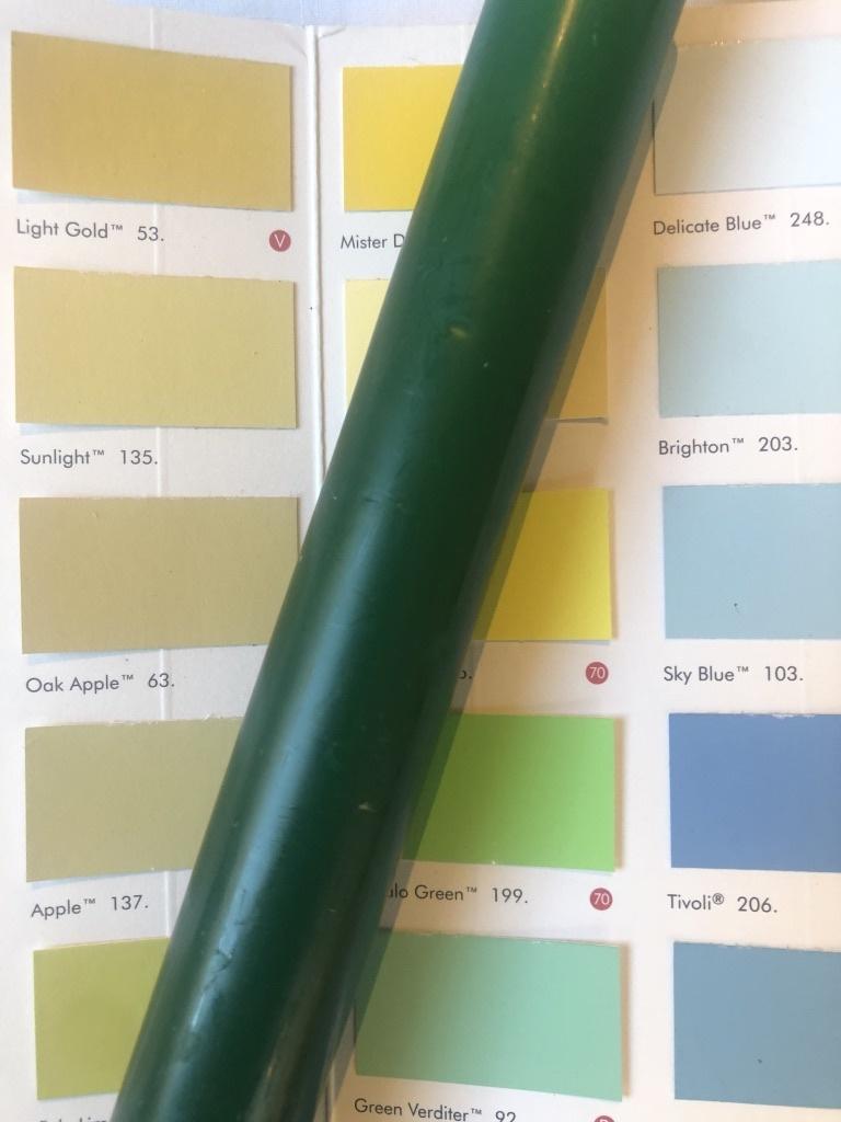 Top kwaliteit kaars- donker groen
