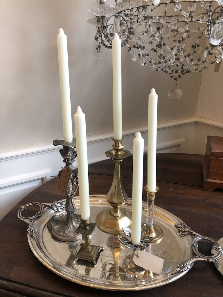 Top quality candle ivory