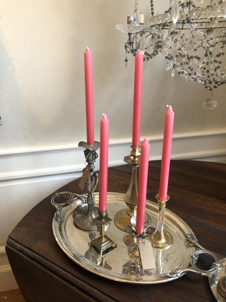 Top kwaliteit kaars koraal roze