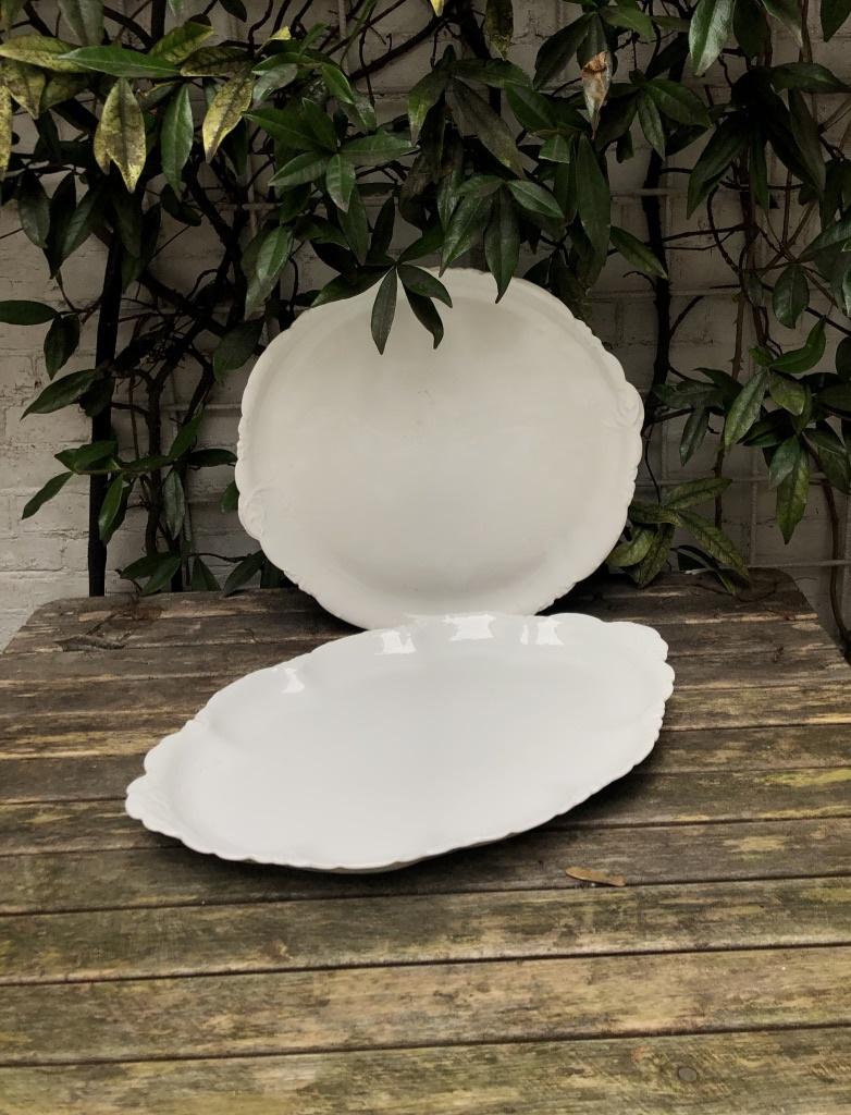 Stunning porcelain serving dishes