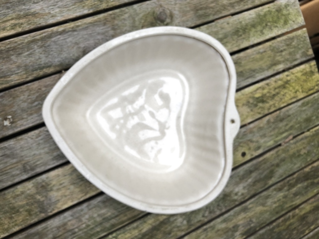 Antique jelly mould