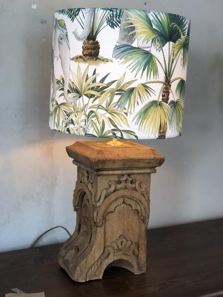 Handgemaakte lampenkap