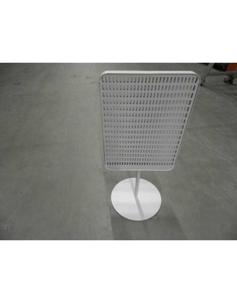 ACC.STAND FOR TABLE,PERF,WHITE