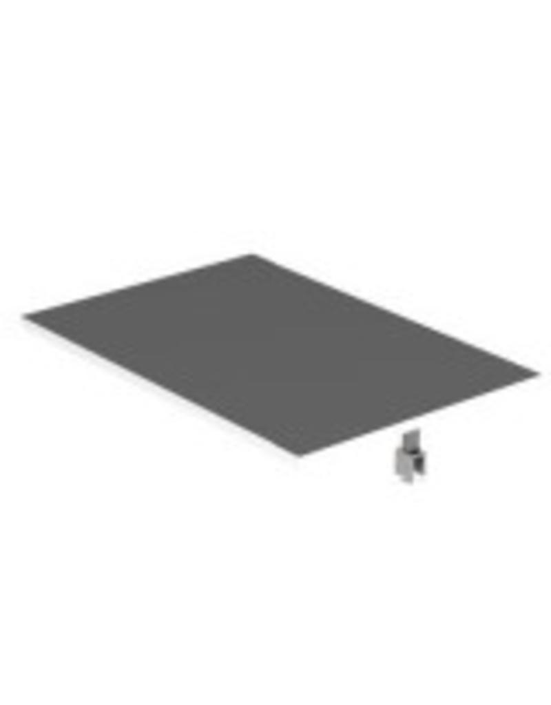 Store Development SHELF,WALL FRAME,WHITE,NARROW,TO DETAILRAIL