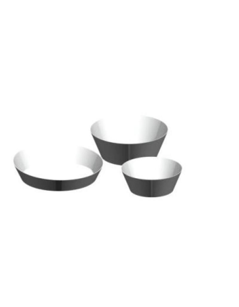 DISPLAY PLATE,WHITE,SET OF 3