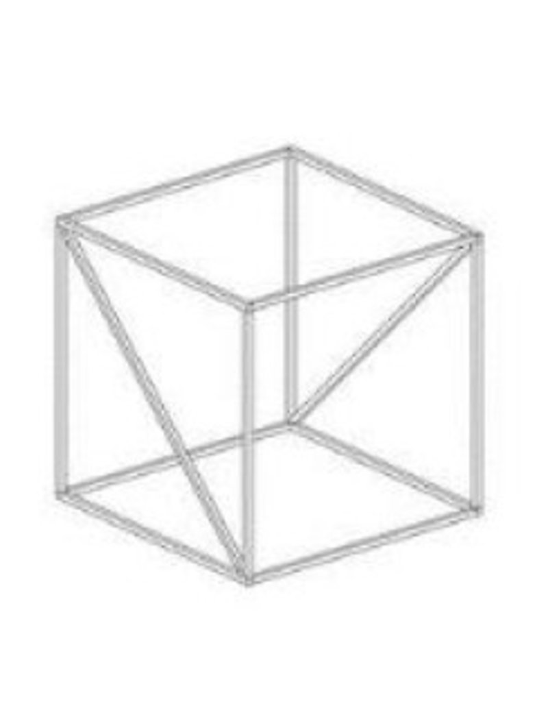 Store Development DISPLAY PROP, WIRE CUBE