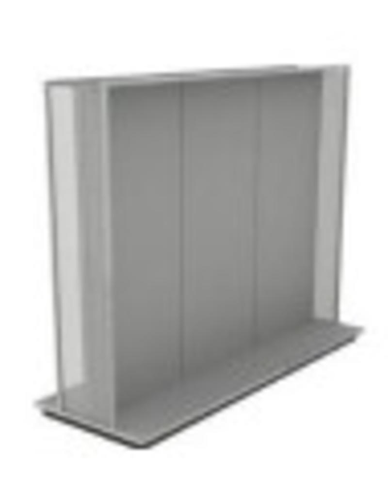 Conscious Floorstand geperforeerde zijkant grijs