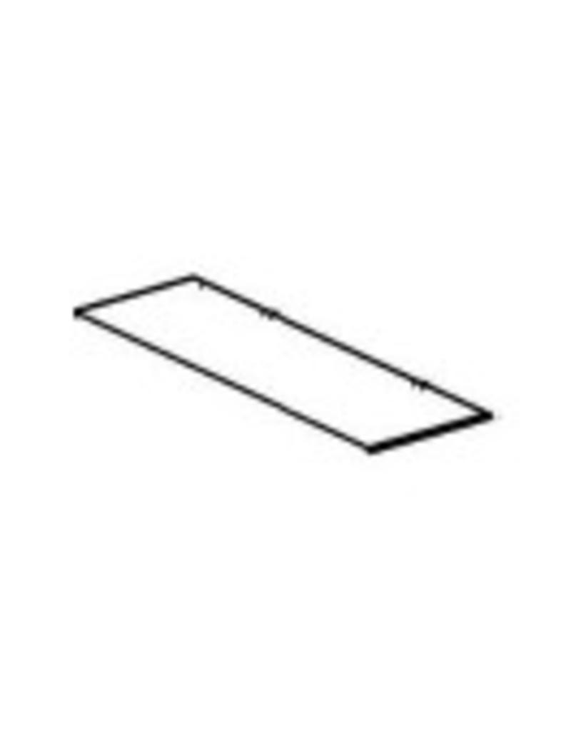 Store Development SHELF,CC32,GLASS,WIDE