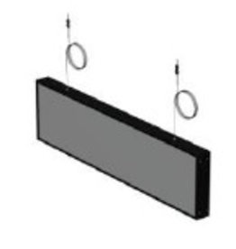 NL stock SIGN,NON LIT DIRECTION BOX