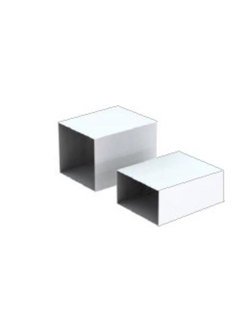 NL stock DIVIDER BOX FOR SHELVES,WHITE,SET OF 2 SMALL