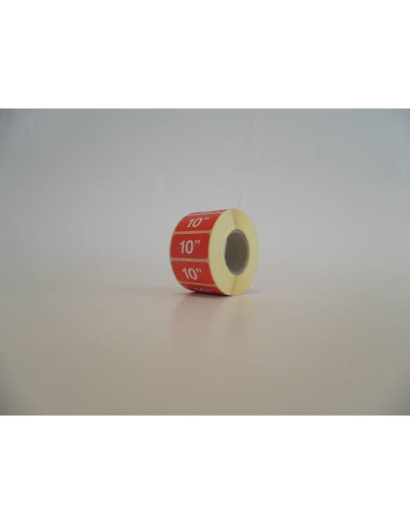 € ROOD - sale sticker