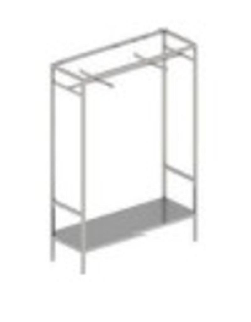 Store Development 168827 FLOOR CABINET/BACKDROP,BRSS