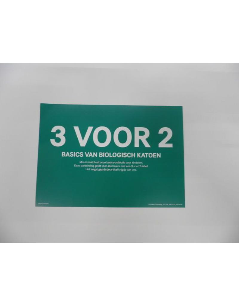 A5 Picturesign Conscious 21x14.8cm (3voor2 biologisch katoen)