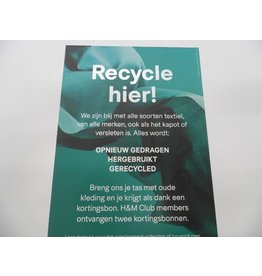 VM Poster Conscious Box Front 42x58,5cm(recycle)