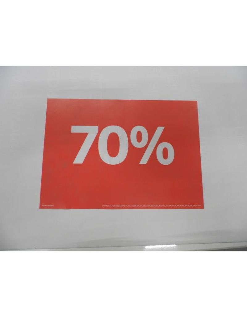 A5 Picturesign Sale 70% 21x14.8cm (rood)