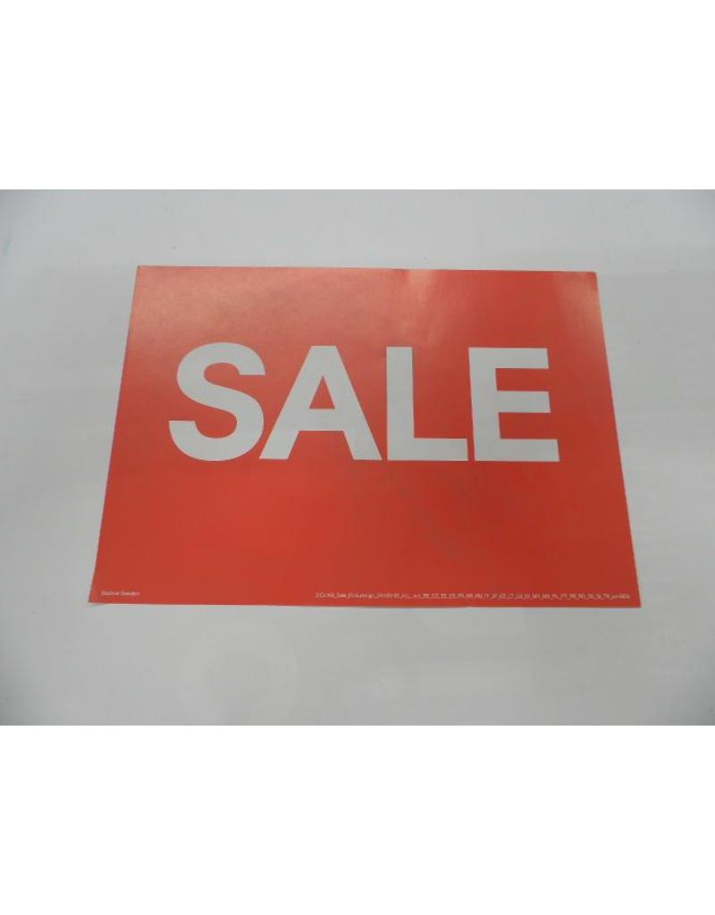 A5 Picturesign Sale  21x14.8cm (rood)
