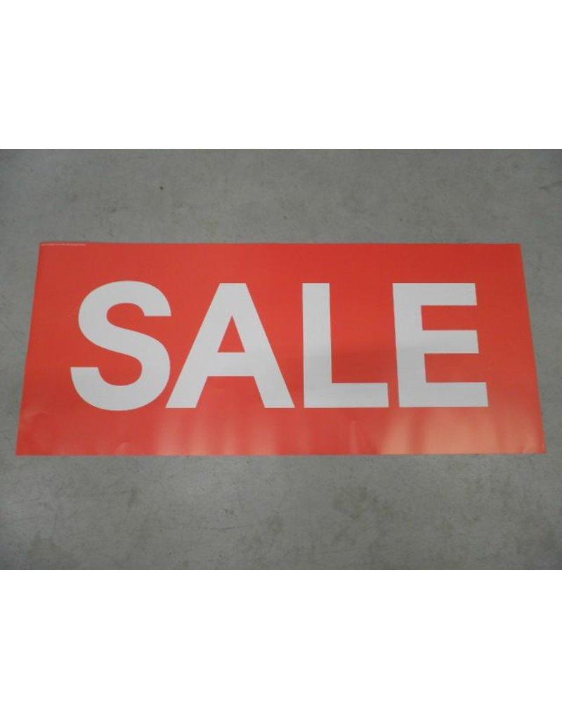 VM Sale Gable Poster 58x15,8cm(rood groot)