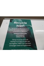 VM Poster Conscious 50x70cm (Recycle hier)