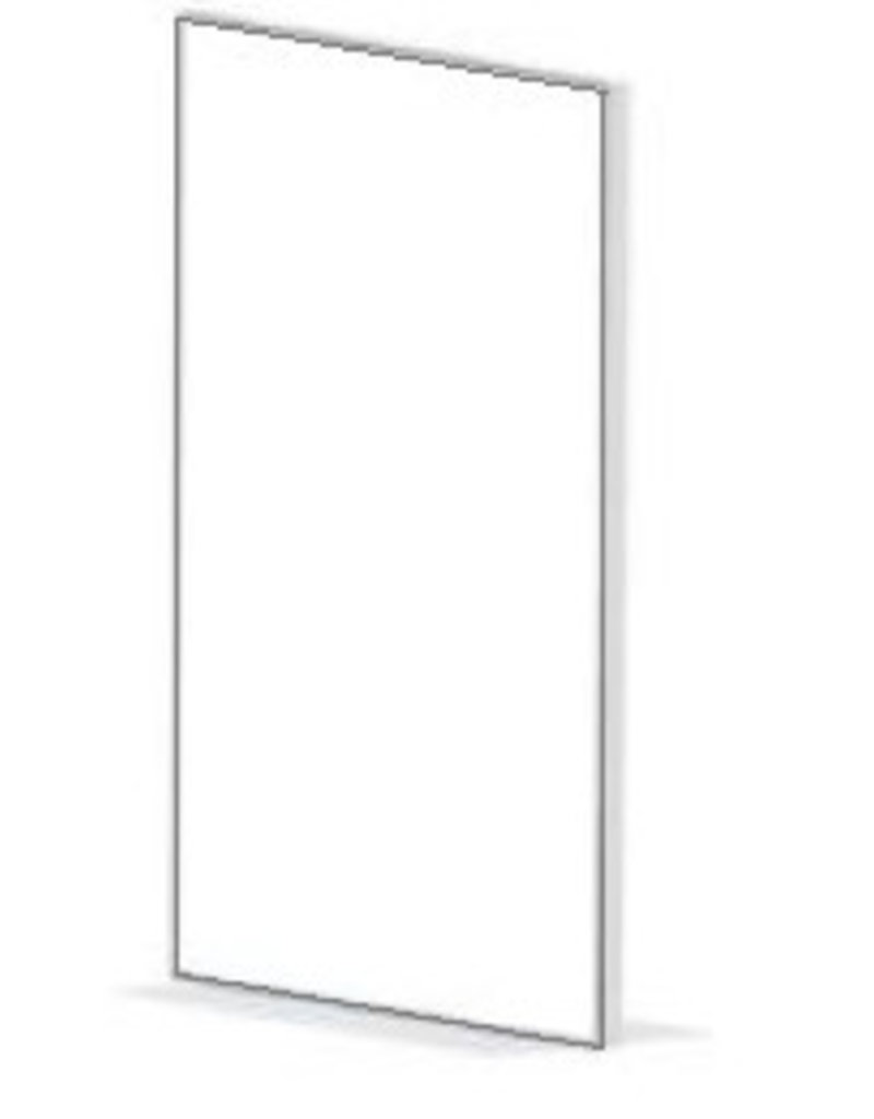 Store Development POSTER FRAME,WH,INCL.FLOOR SUPPORT,1000X700