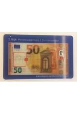 Valsgeld checkkaartje 50,00
