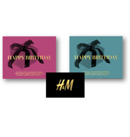 Marketing Giftcard Happy Birthday