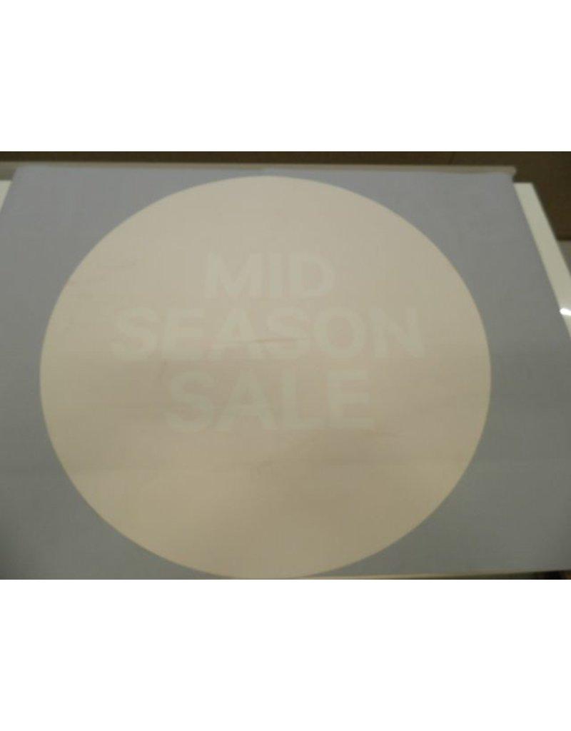 Sale vinyl rond 70x70cm