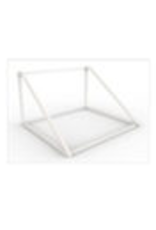 Store Development BEAUTY METAL STAND, STAIRS, WH, NARROW (2020)
