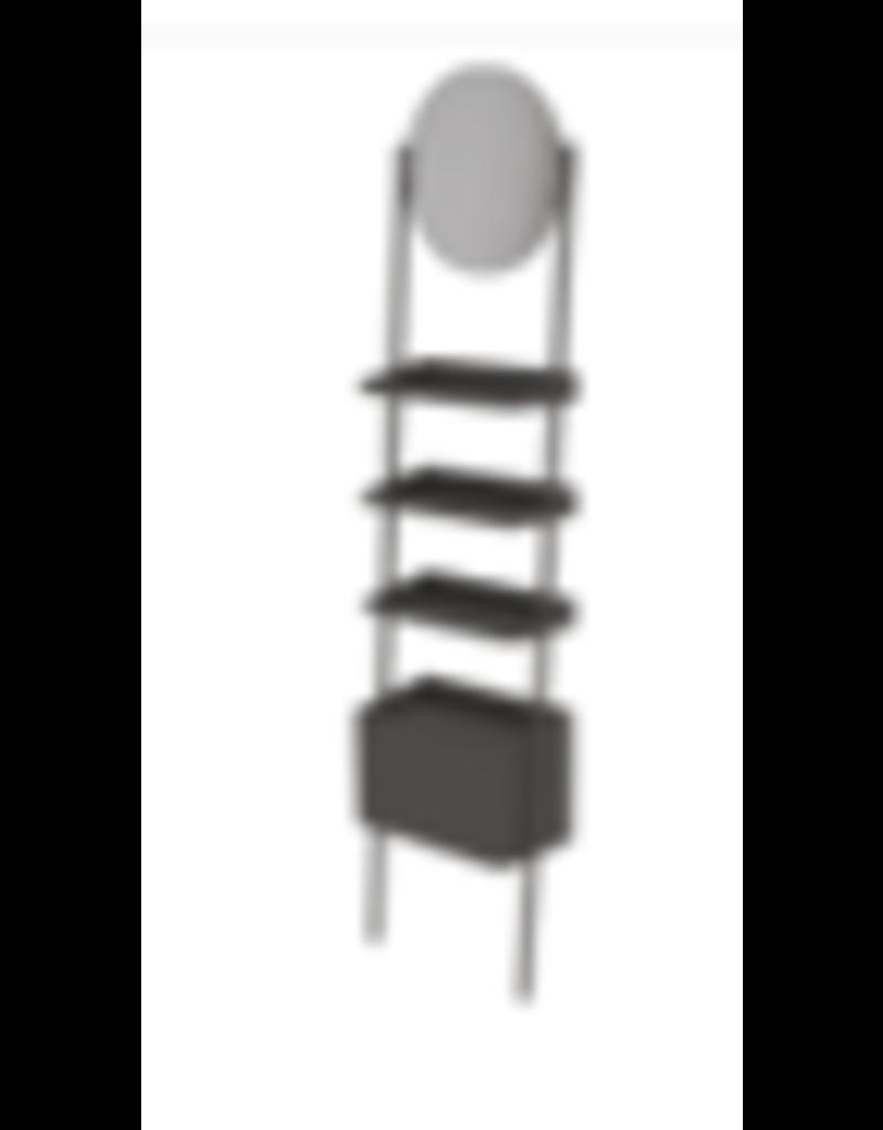 Store Development BEAUTY GABLE PILLAR F, FL.STAND, W.MIRROR, W.BIN (2020)