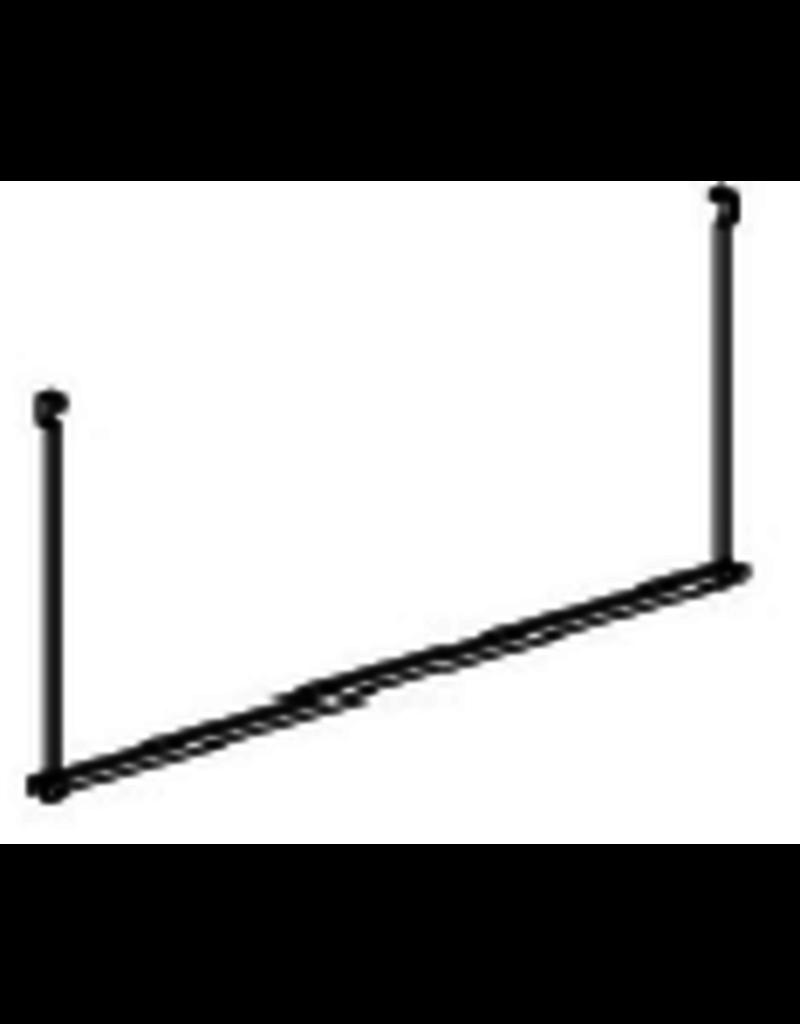 Store Development COMBI, HANGER F F.SINGLE STAND-LONG, BLACK