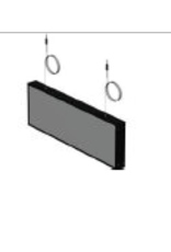 Store Development SIGN, NON LIT DIRECTION BOX, BL.CEILING, NARROW