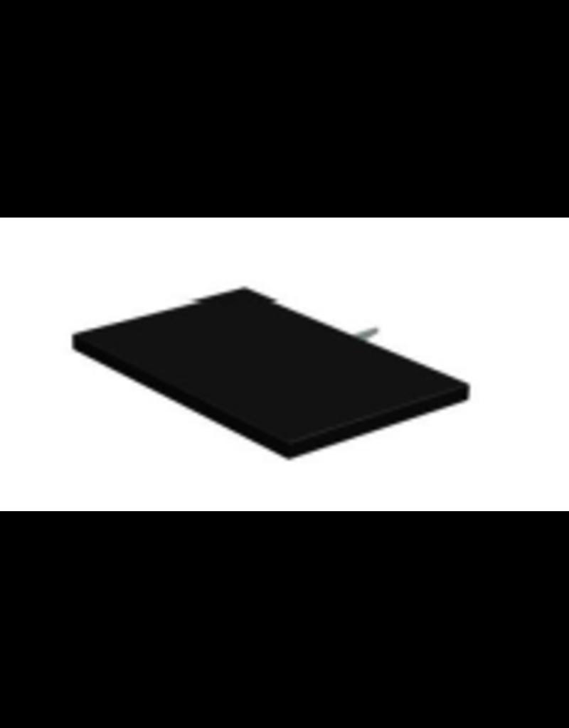Store Development SHELF,CC32,BLACK,NARROW,LIGHTWEIGHT