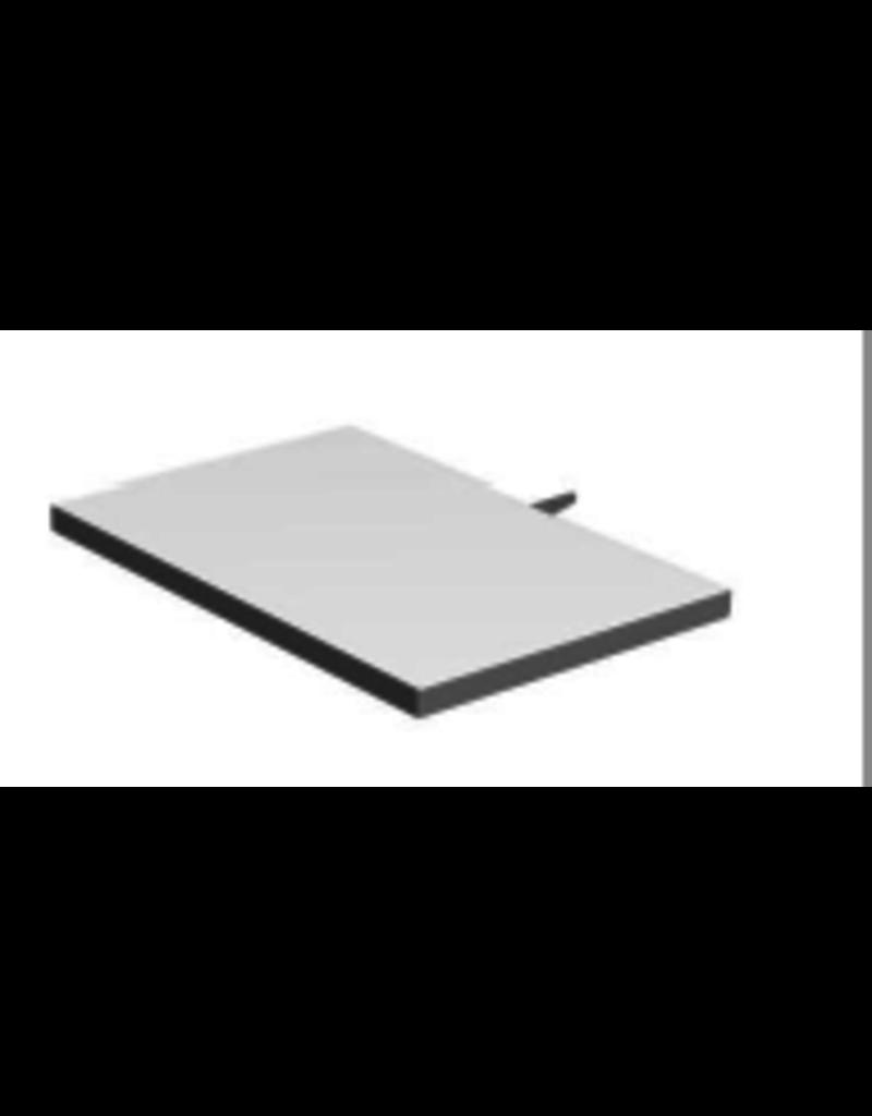 Store Development SHELF, CC32, WHITE, NARROW LIGHTWEIGHT