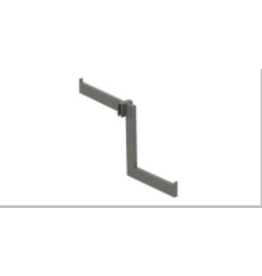 Store Development 107679 WATERF.ARM,FOR 10MM DET.RAIL,BRSS,L180MMx2