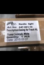 Maintenance VERLICHTING casing for track white 2390  Nordicmm