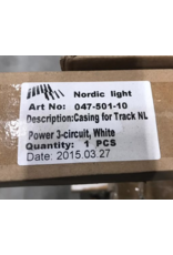 Maintenance VERLICHTING Nordic casing for track white 2390 mm