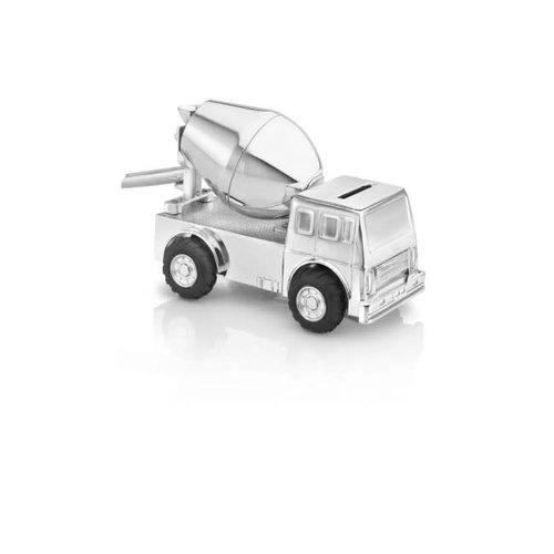 Zilverstad Spaarpot 6163261 – Cementwagen