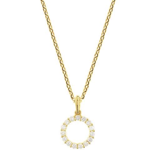 Gouden Collier met zirconia 4018548