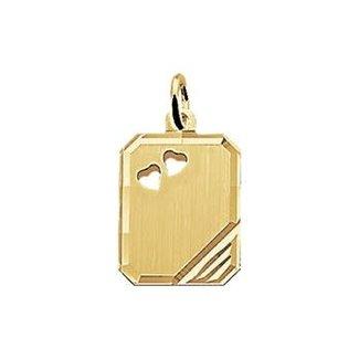 Mi Zalini Mi Zalini Gouden Graveerhanger harten 4018350