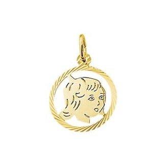 Van Dam Juwelier Gouden Bedel meisje 4018363