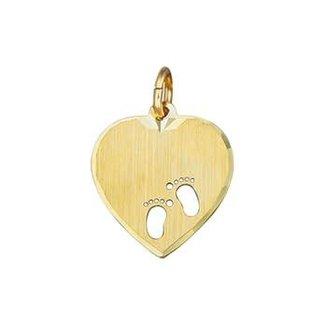 Van Dam Juwelier Gouden Graveerhart voetjes 4018366