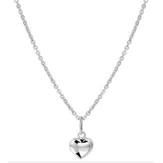 Van Dam Juwelier Witgouden Collier hart 4104342