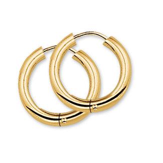 Van Dam Juwelier Gouden Klapcreolen 4018308