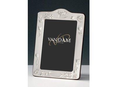 Huiscollectie Van Dam - Zilveren fotolijst 241.2 – 10x15cm