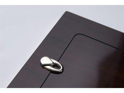 Huiscollectie Van Dam - Zilveren fotolijst 241.1 – 6x9cm