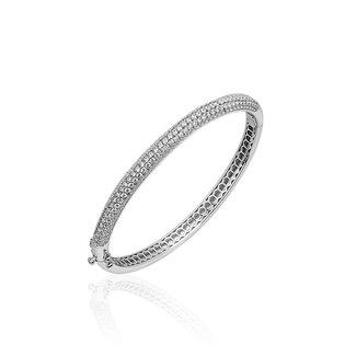 Van Dam Juwelier Zilveren slavenband SBD6