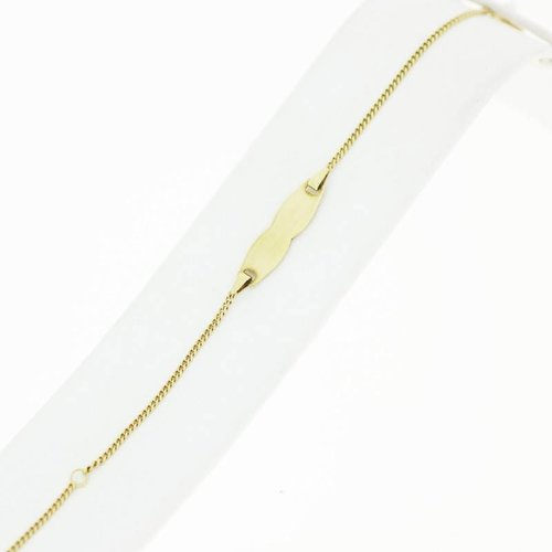 Gouden Kinderarmband 14krt 12-14cm