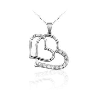 Huiscollectie Zilveren hanger hart P609