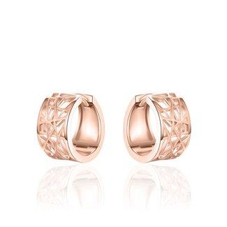 Van Dam Juwelier Rose creolen KC089R