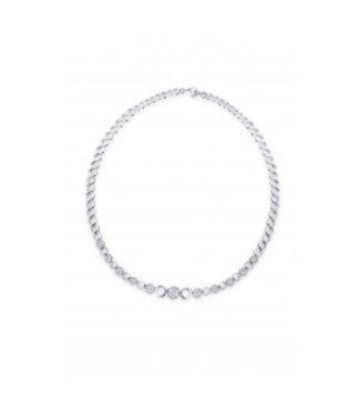 Van Dam Juwelier Zilver collier N911
