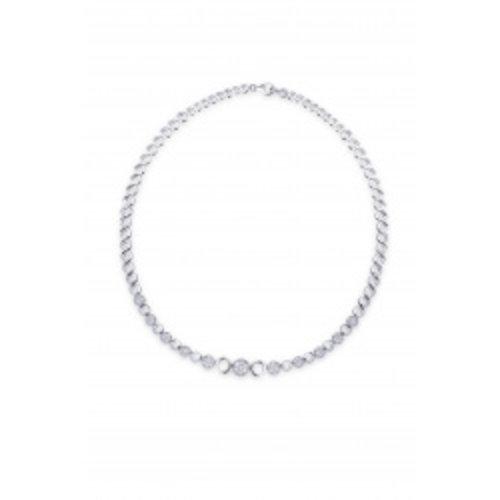 Huiscollectie Zilver collier N911